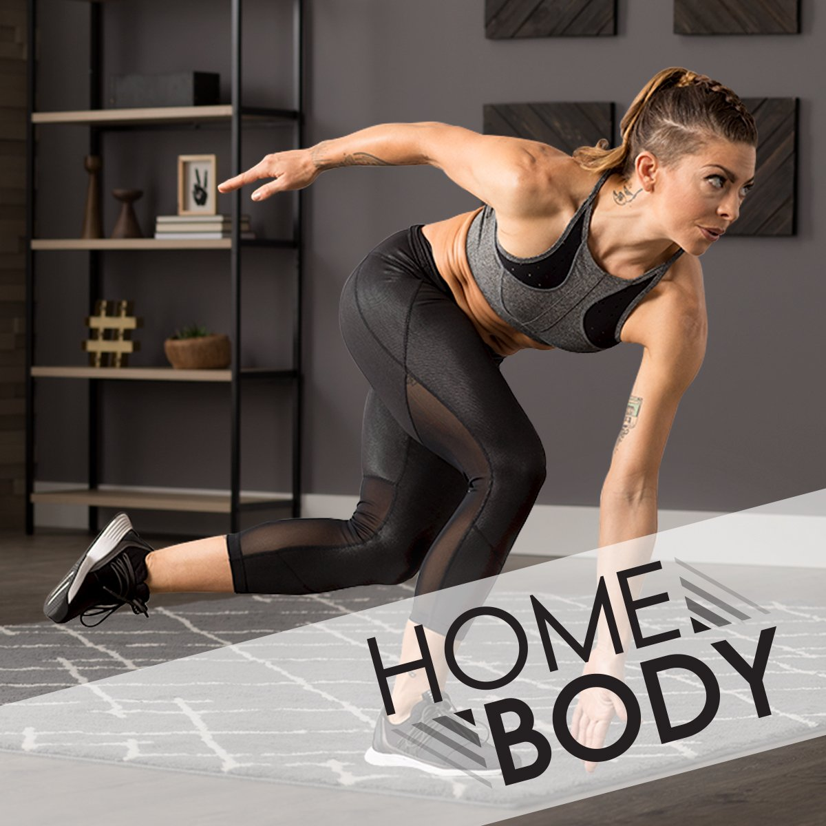 Home Body: 8-Week At-Home Fitness Plan
