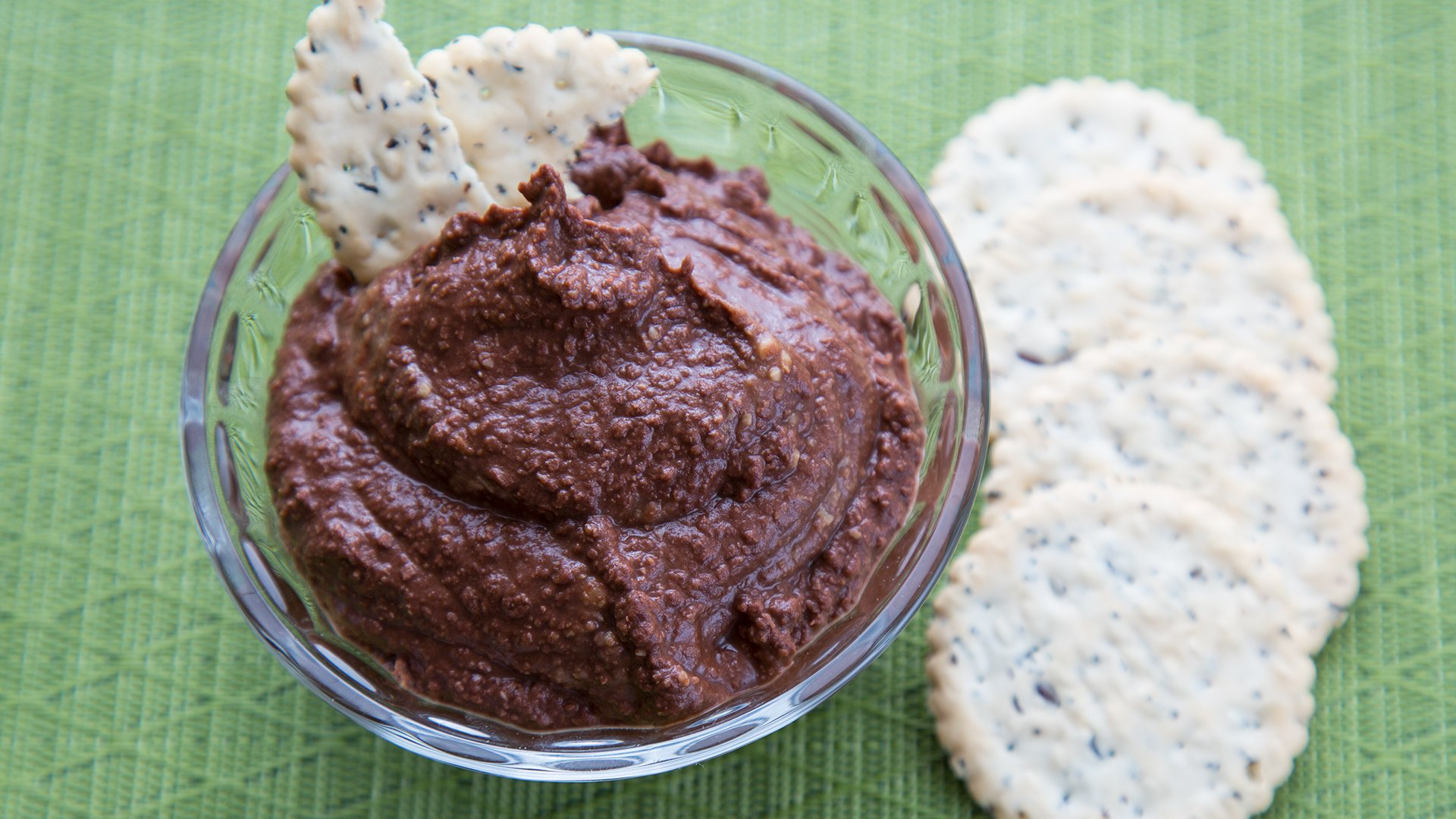 Chocolate Peanut Butter Hummus
