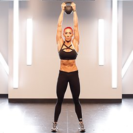 Kettlebell Pull-And-Press