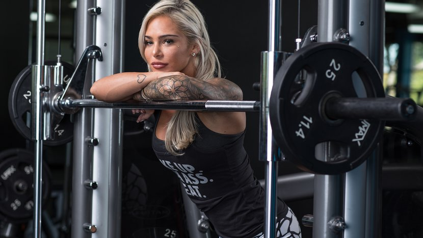 Cassie Mason's Badass Leg Workout