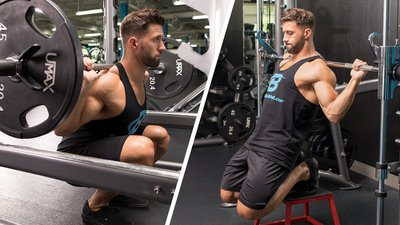 Julian Smith's Signature Moves For Legs