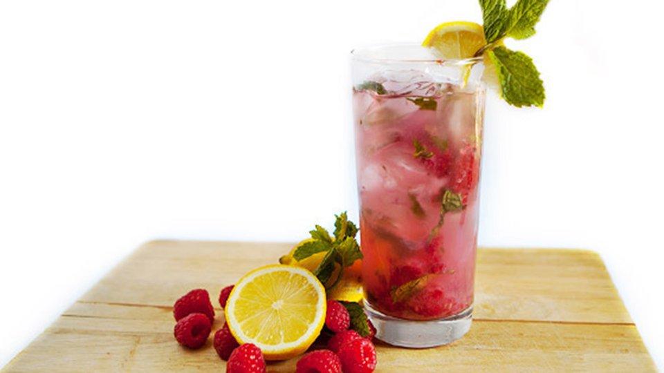 Raspberry-Lemon Mojito