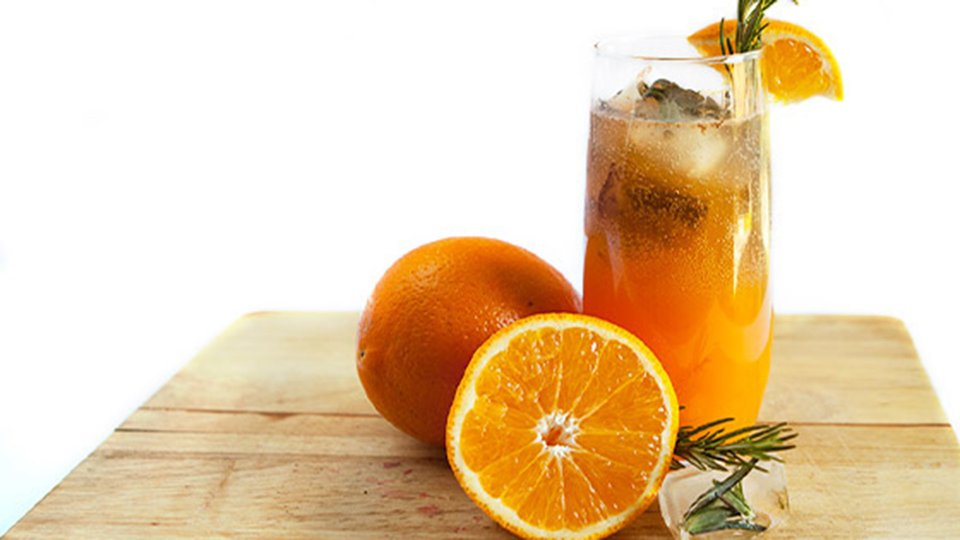 Orange Rosemary Cooler