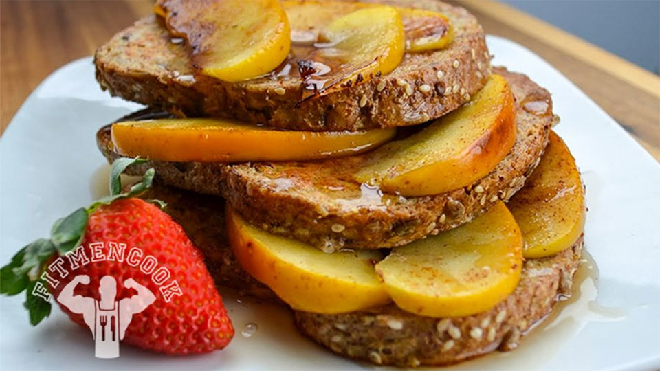 Protein French Toast With Sautéed Apples