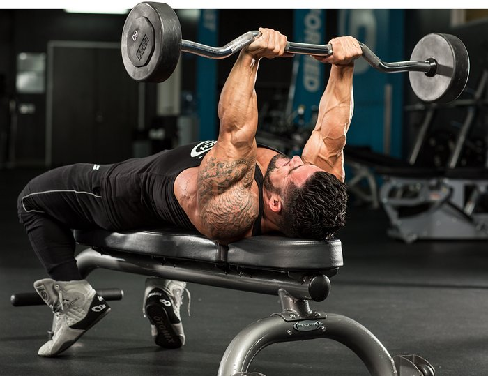 Desbloquee el crecimiento de tríceps con este movimiento único