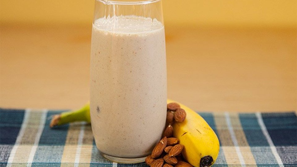 Banana Almond Cream Shake
