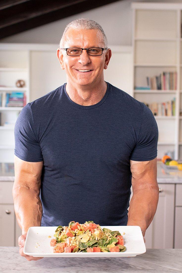 Chef Robert Irvine Spicy Watermelon Salad