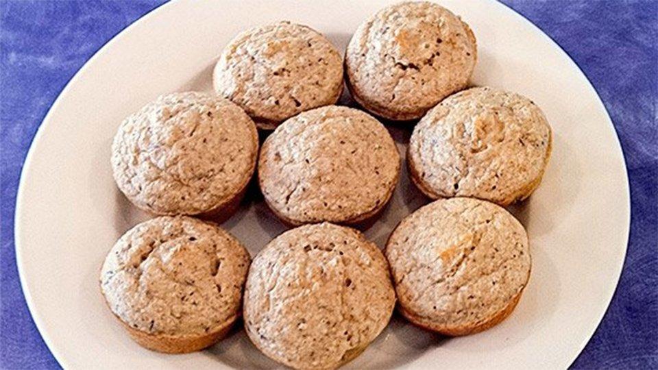 Maple Pecan High-Protein Muffins