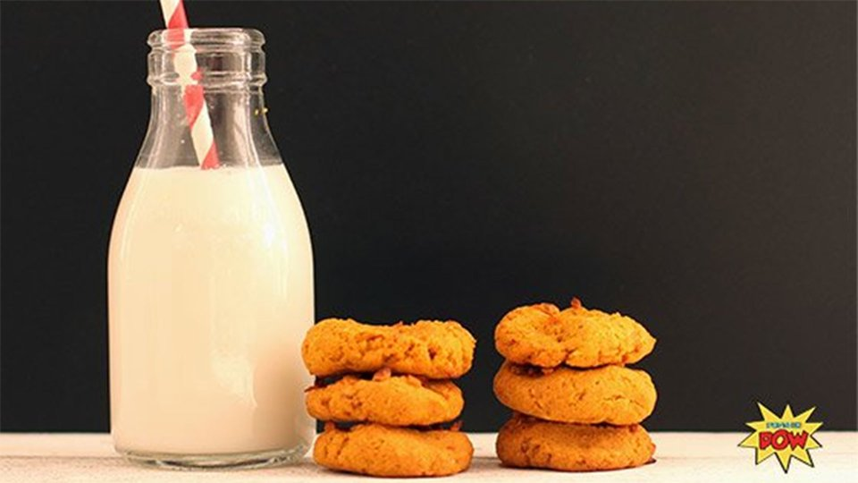 Vegan Pumpkin Mango Nut Cookies
