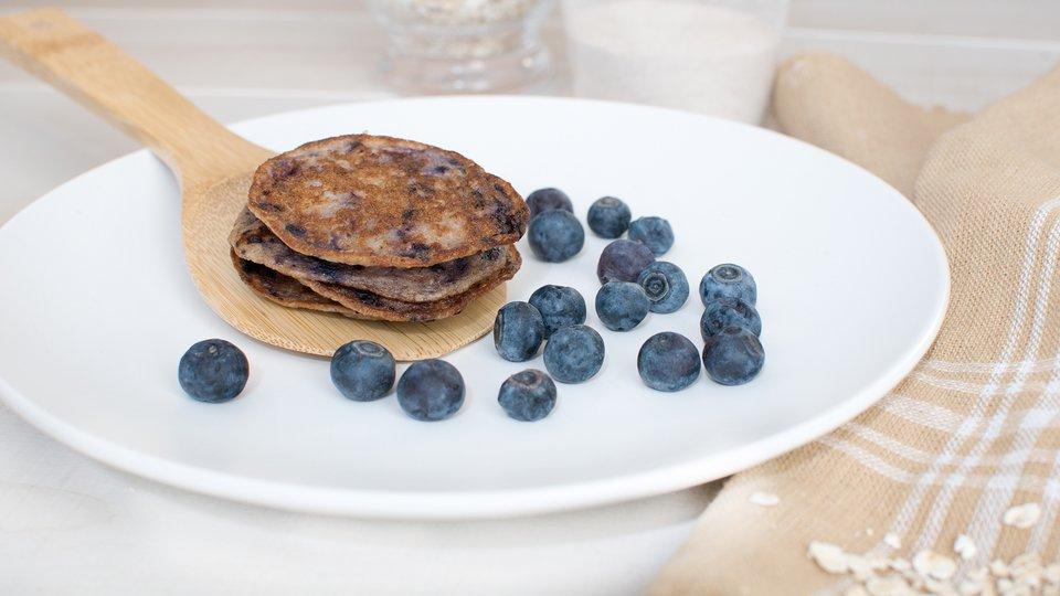 Berry Protein Pancakes