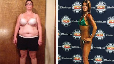 Nurse Brea Dapra Treated Her Body With Intensive Care, Shedding 120 Pounds