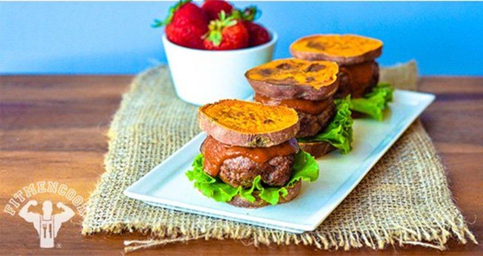 Buffalo Sweet Potato Sliders