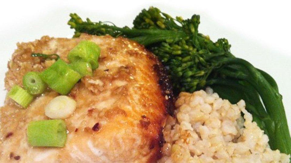 Crockpot Sesame-Ginger Salmon