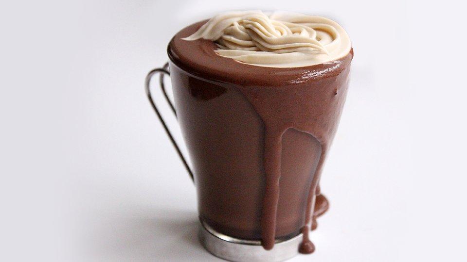 Dark Chocolate Protein Mocha