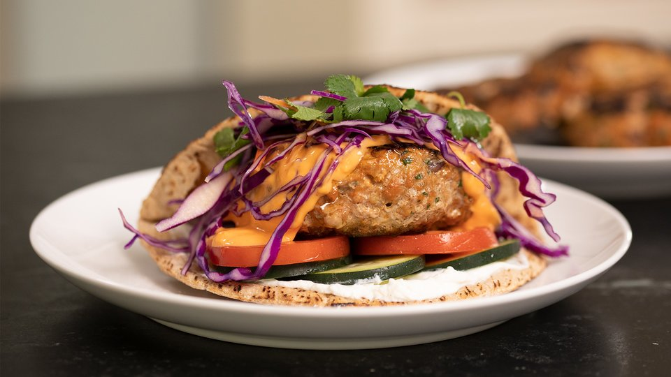 how to cook ground turkey burgers in the oven