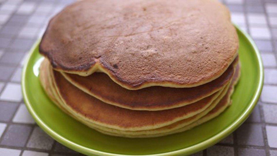 Healthy Pancake Breakfast