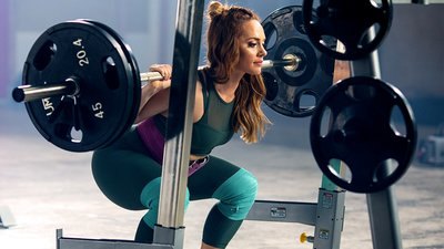 Get Uplifted With This Squat Workout From Meg Squats!