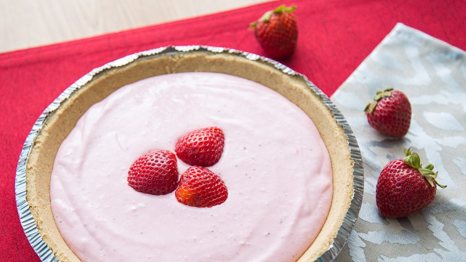 High Protein Berry Cheesecake