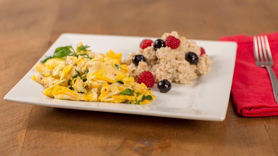 Kicked-Up Breakfast Scramble