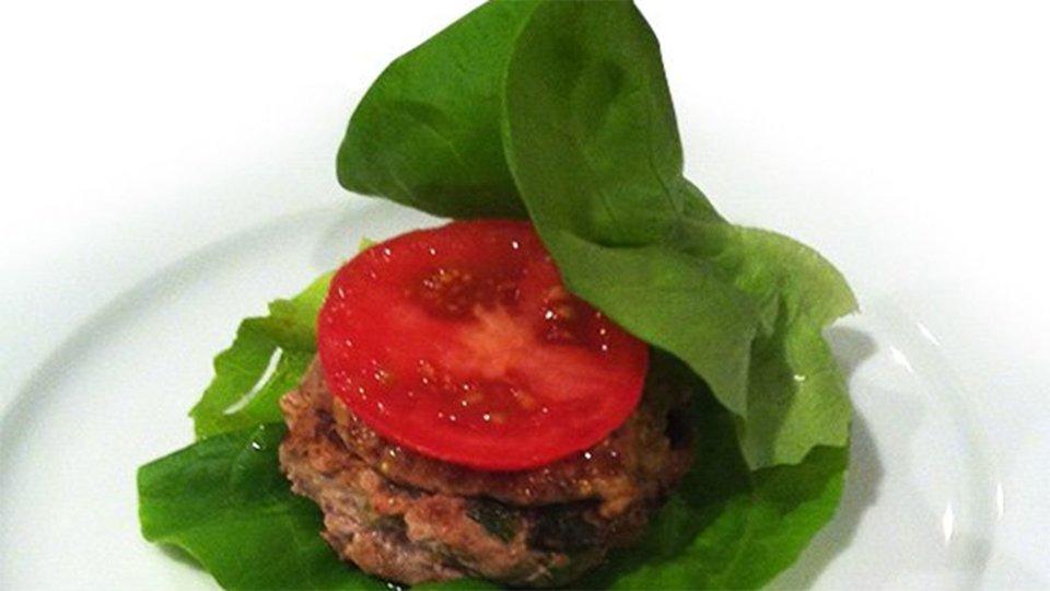 Lettuce-Wrapped Turkey Burgers
