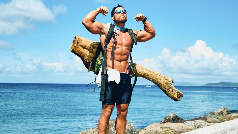 Meet The Muscular Madman Who's Swimming Around Great Britain