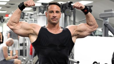 Police Sergeant and NPC Competitor Joe Tolve Locks and Loads His Guns