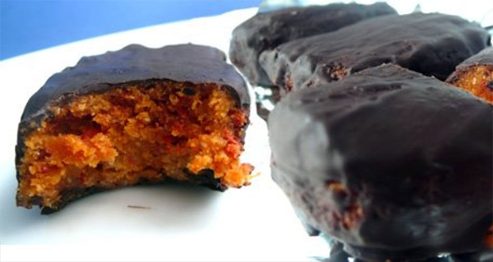 The Incredible Red Velvet Pumpkin Seed Protein Bars