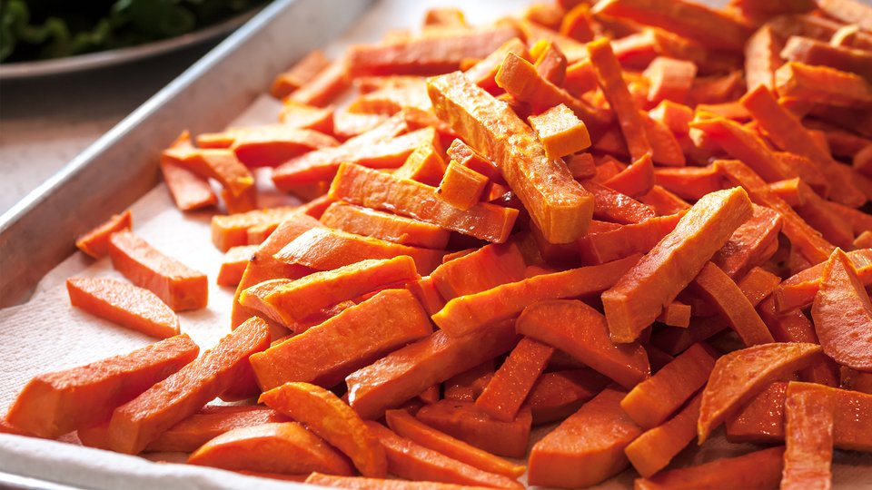 Sweet Potato Fries And Chips