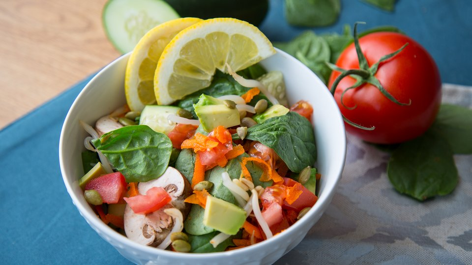 Workout Energy Salad