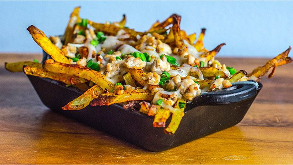 Chipotle Chili Turkey Cheese Fries
