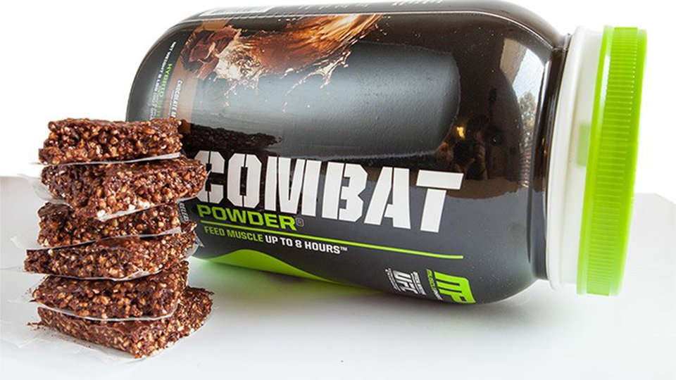 Combat No-Bake Cookie Bars