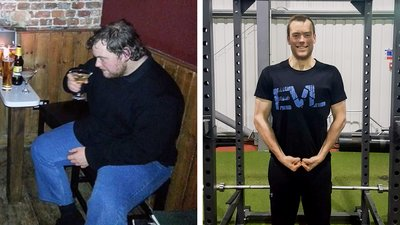 Anthony Boon Cut His Body Weight In Half!