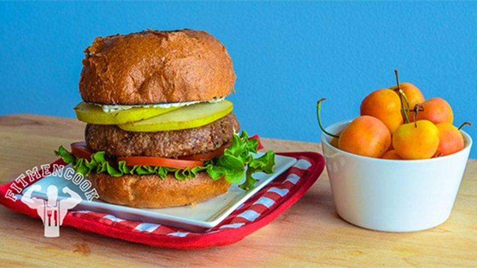 Buffalo Pear Recovery Burger