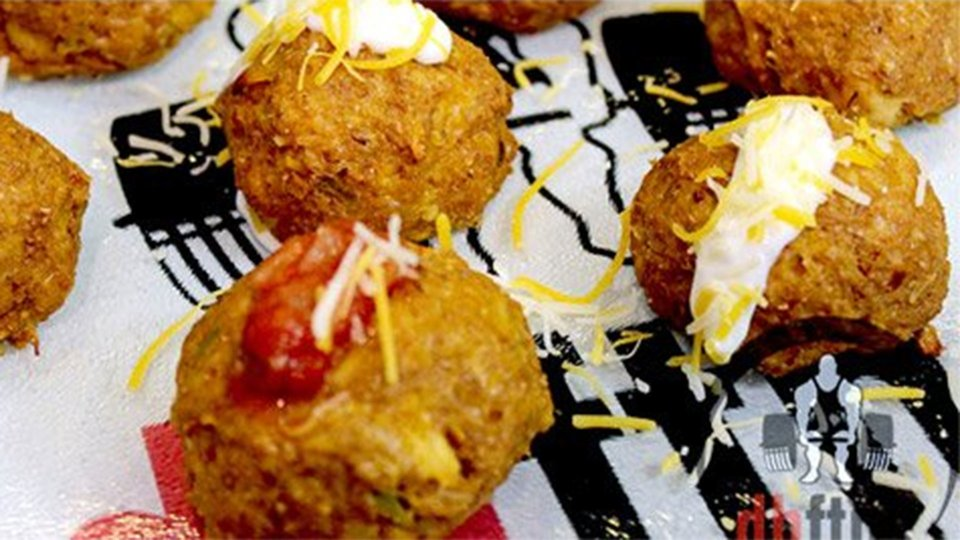 Canned Chicken Parmesan Balls
