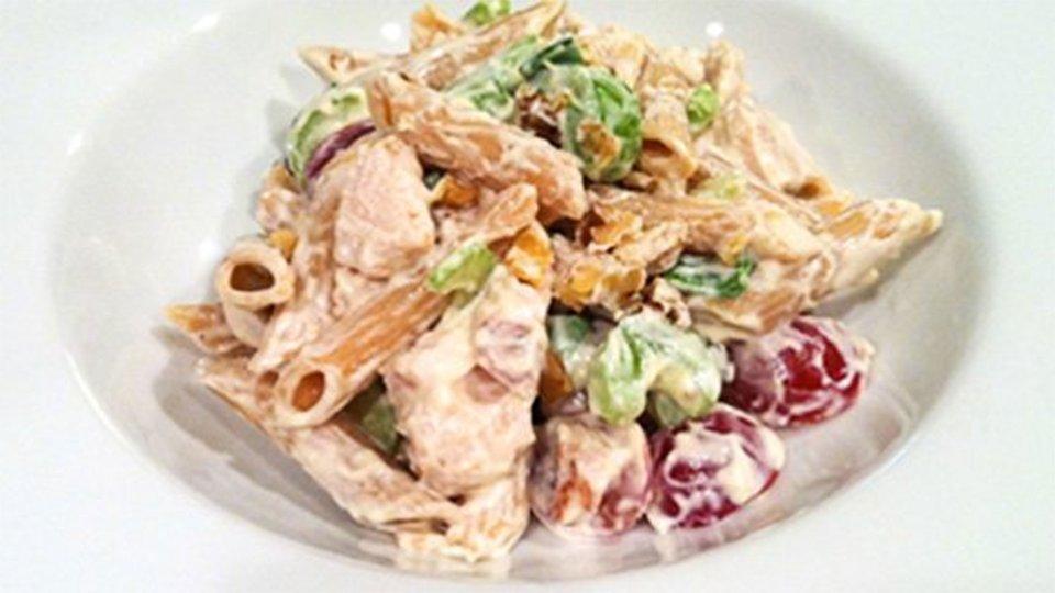 Creamy Turkey Pasta Salad