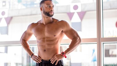 "From Bodybuilder To ""Bachelorette,"" Rickey Jasper II Makes The Cut"