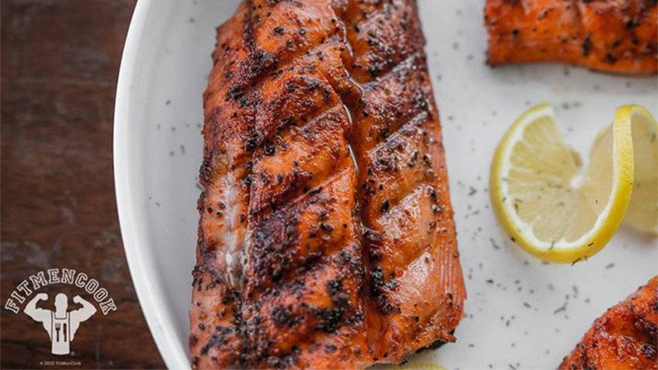 Grilled Southwest Salmon