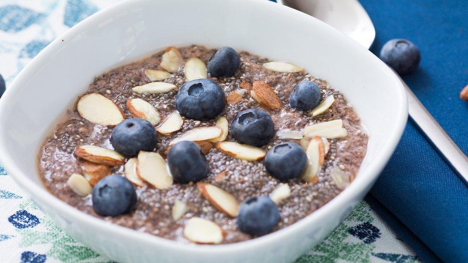Blueberry Chia Yogurt Bowl