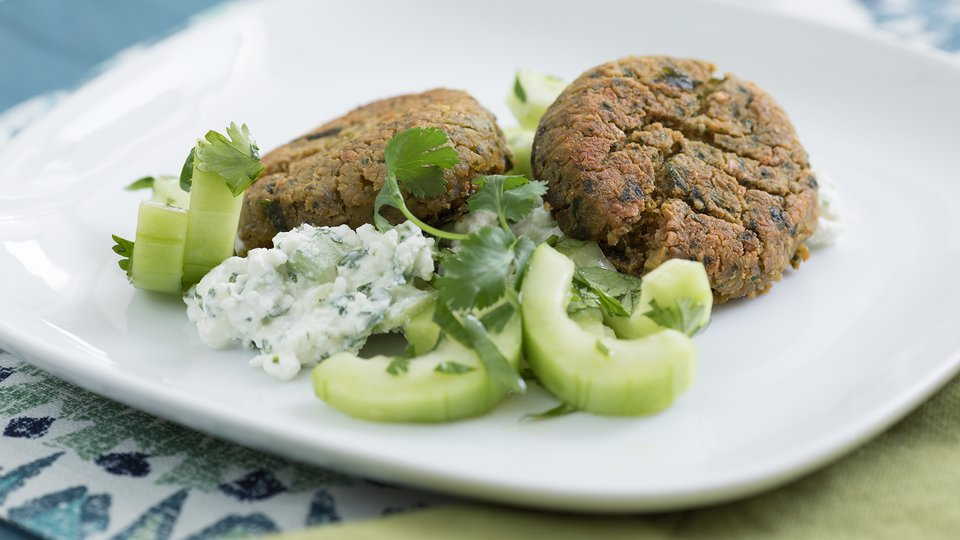 Fit Falafel With Cottage Cheese Tzatziki