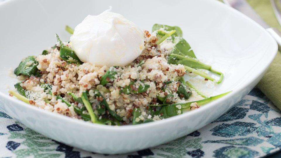 Poached Egg Quinoa
