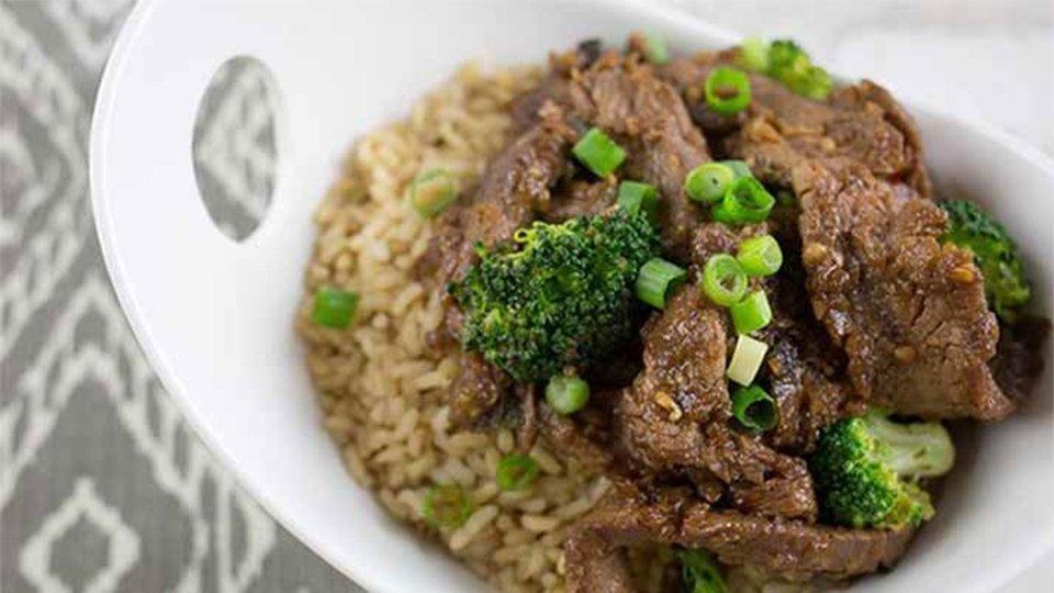 Homestyle Mongolian Beef