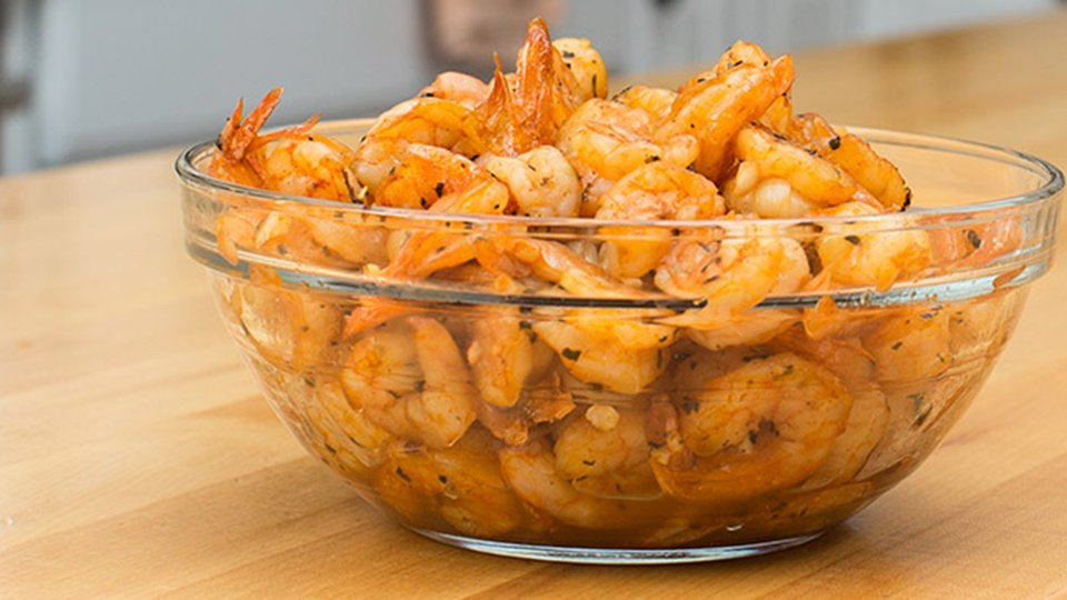 Kendall's Kitchen: Garlic And Herb Shrimp