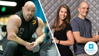 Podcast Episode 36: Larger-than-Life Lifting and Eating with Branch Warren