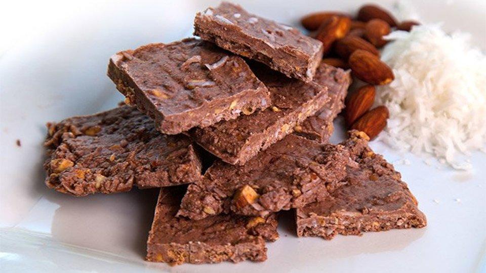 Protein Almond Bark