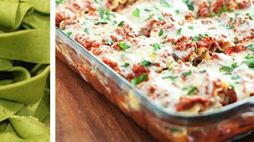 Spinach Noodle Lasagna