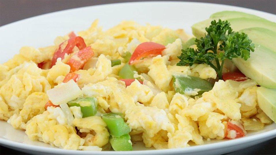 Sneak Veggies Into Your Diet: Scramble 'Em