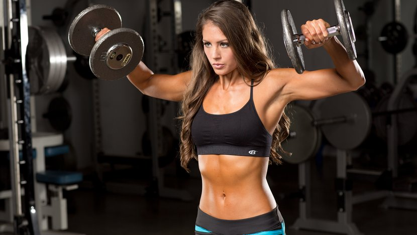 how to build lean muscle women