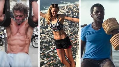 The World Is Their Gym: 3 Athletes Who Stay Fit In The Unlikeliest Places