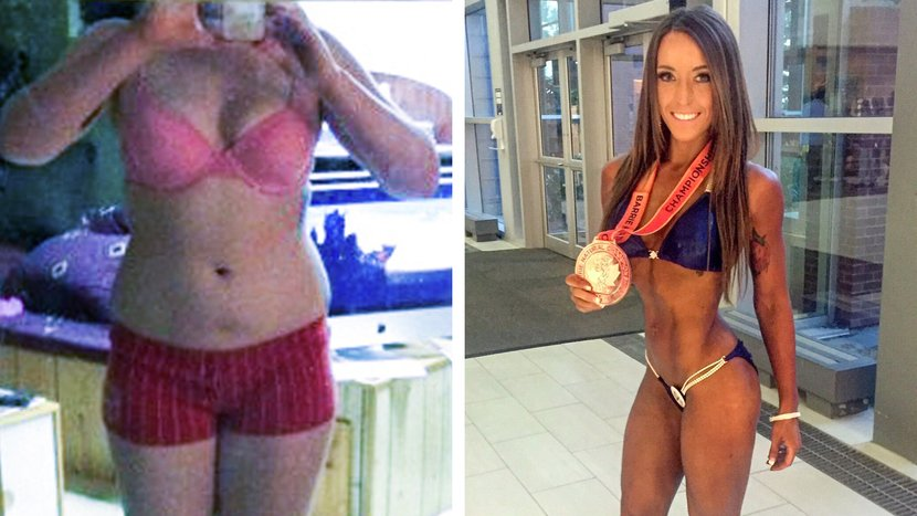 Trina Asselin Traded Parties For Exercise And Lost 80 Pounds!
