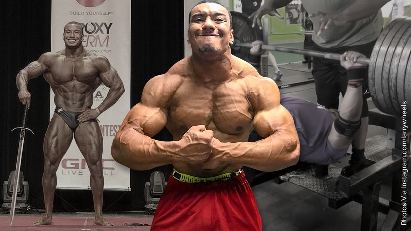 """Unconditional: Larry """"Wheels"""" Williams Crushes Powerlifting And Bodybuilding"""